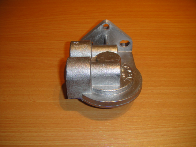 remote oil filter housing