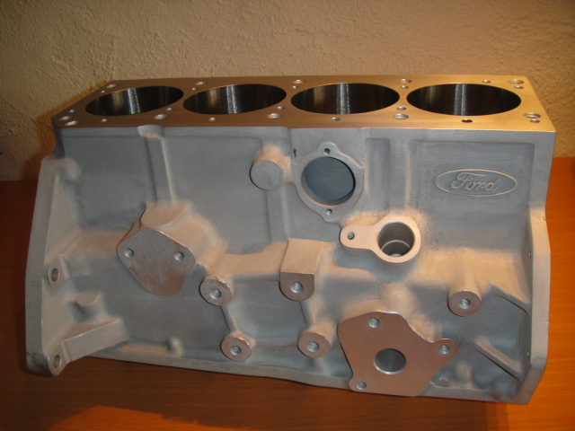 bdg alloy engine block with nicaseal bore