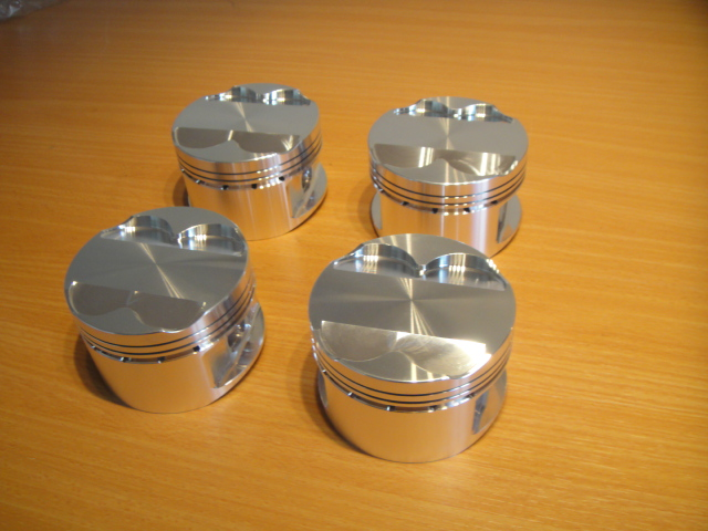 race pistons for cosworth bdg engine
