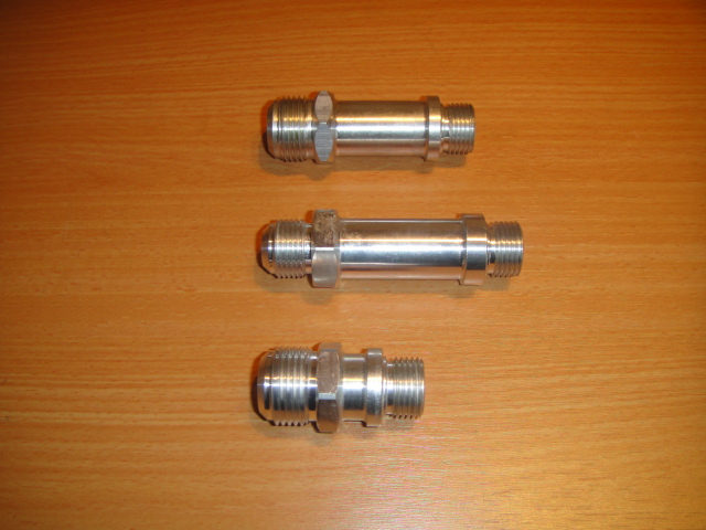 extended oil pump fittings