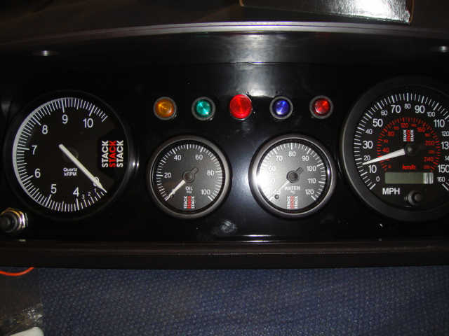ford escort mk2 dash board clocks