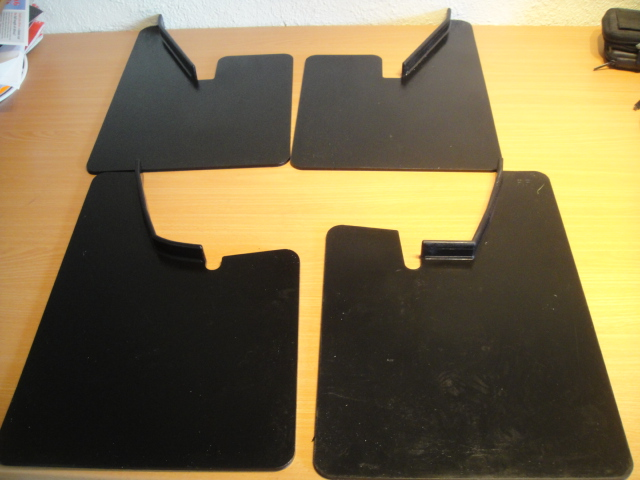 ford escort mk2 moulded mud flaps