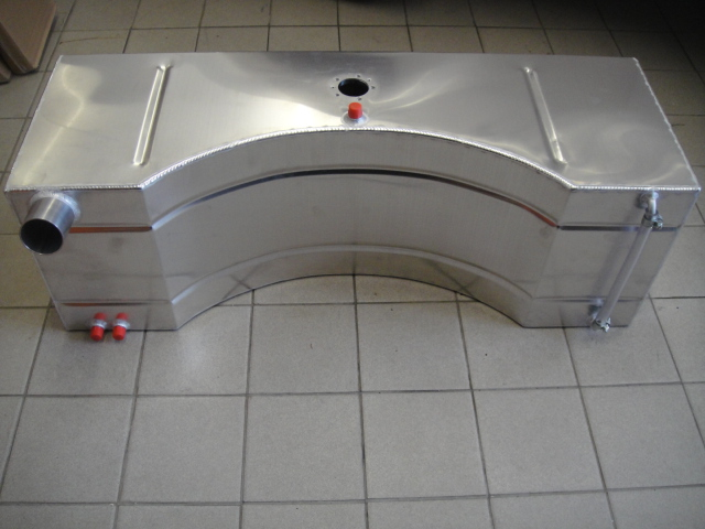 alloy fuel tank