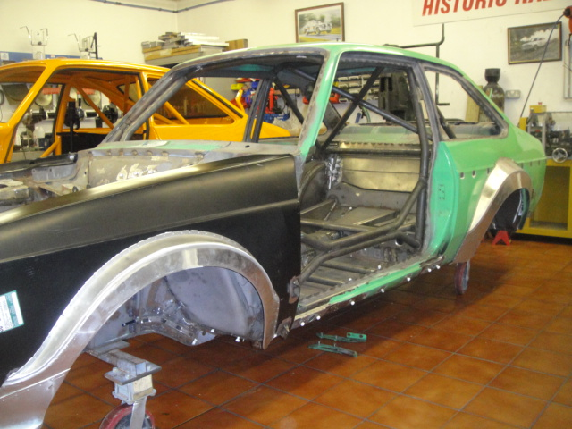 Fully fabricated Group4 body shell