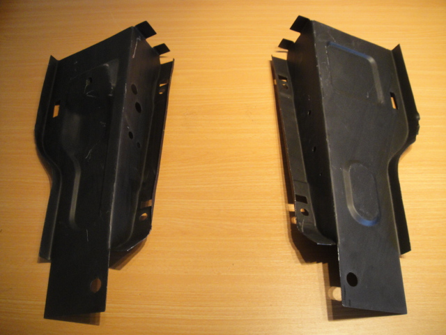 escort mk2 radiator support panel