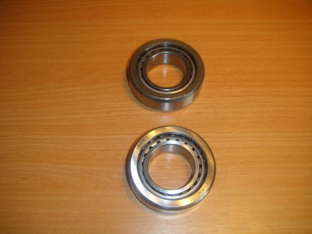 Diff side bearings