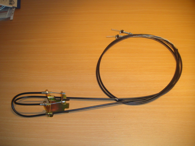 Hand brake cable attachment