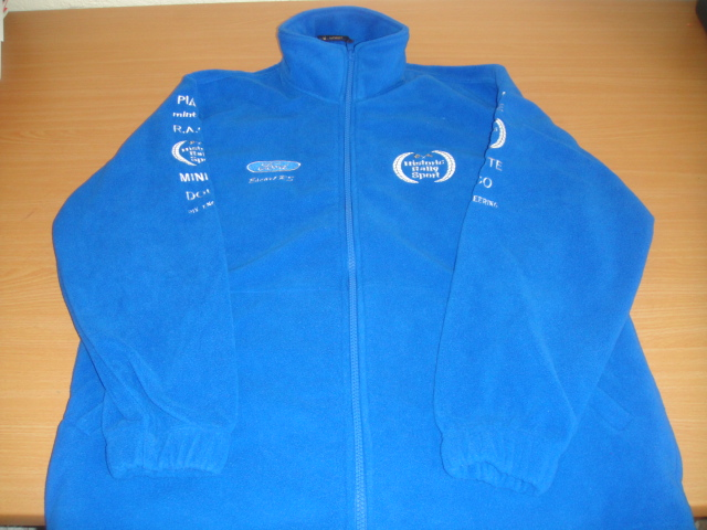 historic rallysport team fleece