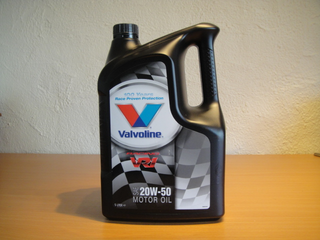 valvoline racing 20w-50 oil